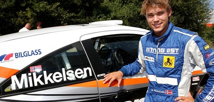 Andreas Mikkelsen. Foto: barum.rally.cz